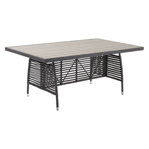 "Modern Rectangular 73"" Dining Table - Gray - ZM Home - image 1 of 4"