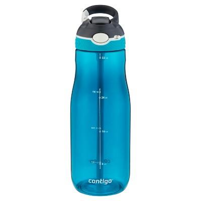 Contigo 32oz Autospout Straw Ashland Hydration Bottle Scuba Blue