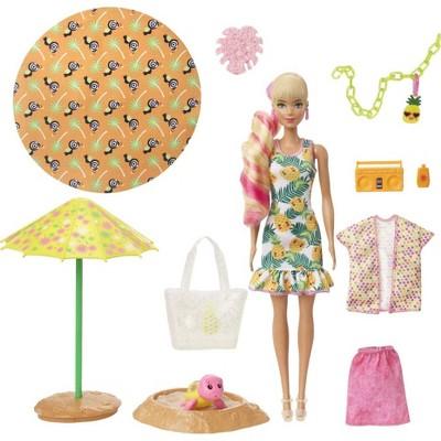 Barbie Ultimate Color Reveal Foam Doll - Pineapple Scent