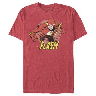 Men's The Flash Running Portrait T-Shirt