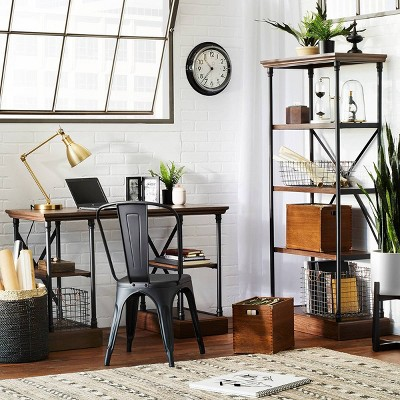 Black & Espresso Conway Home Office Furniture Collection - Threshold™