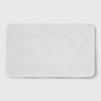 Perfectly Soft Nylon Solid Bath Rug White - Opalhouse™