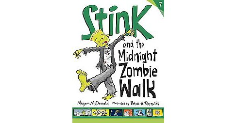 Stink and the Midnight Zombie Walk (Reprint) (School And Library) (Megan McDonald) - image 1 of 1