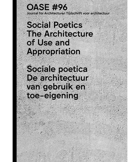 Social Poetics : The Architecture of Use and Appropriation (Paperback) - image 1 of 1