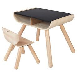 PlanToys Table & Chair - Black