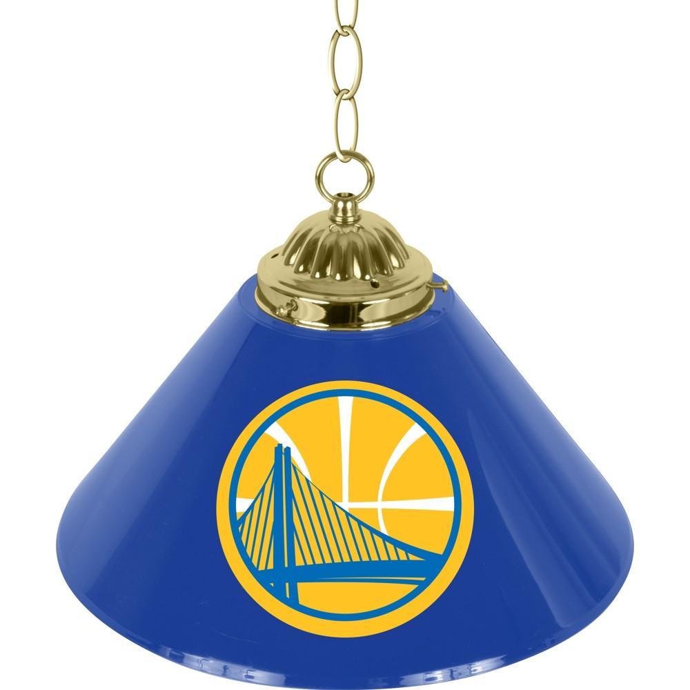 Golden State Warriors Single Shade Bar Lamp - 14 inch