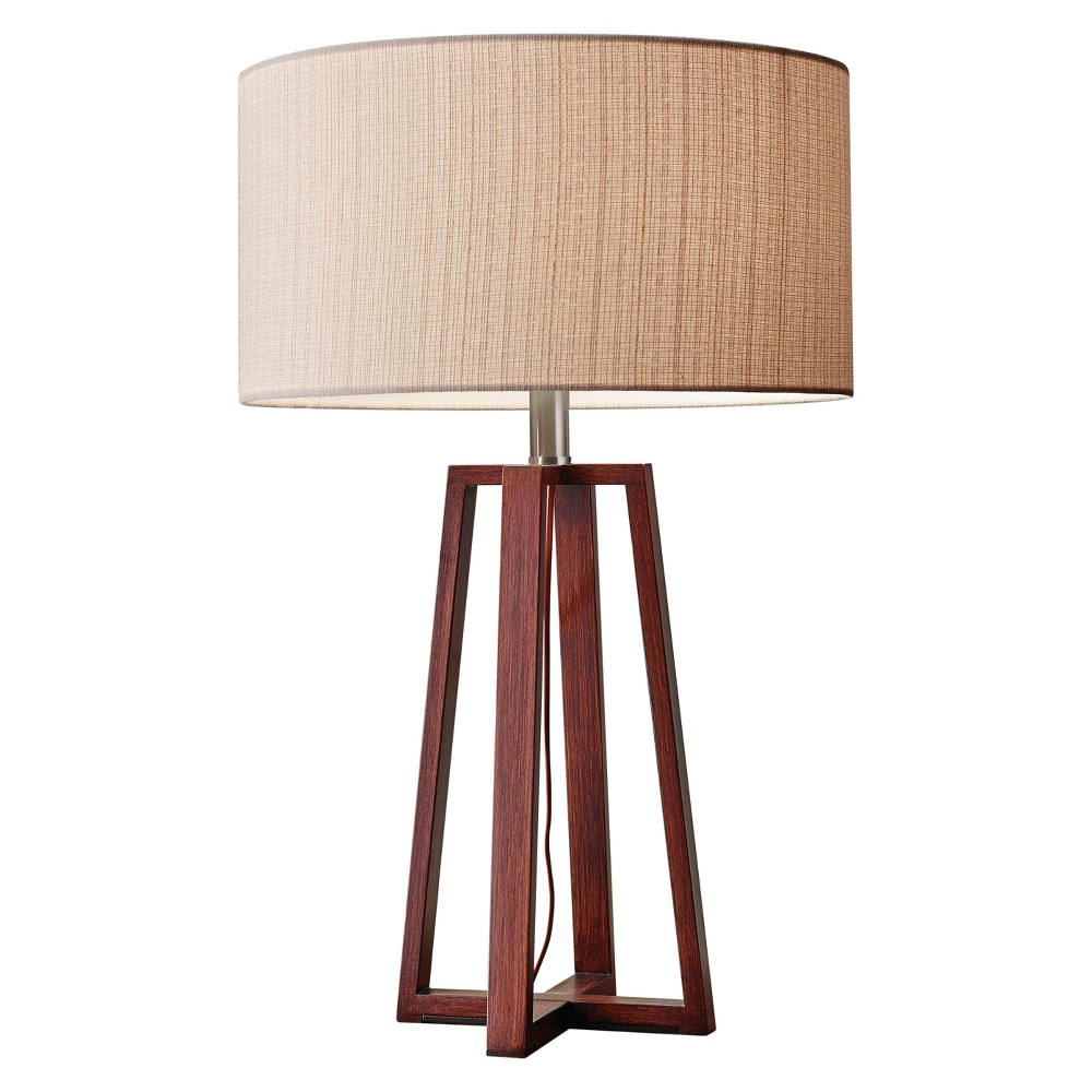 Image of Adesso Quinn Table Lamp (Lamp Only) - Brown