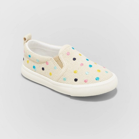 Toddler Girls' Pat Slip-On Sneakers - Cat & Jack™ - image 1 of 3