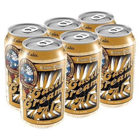 Castle Danger Cream Ale Beer - 6pk/12 fl oz Cans - image 1 of 1