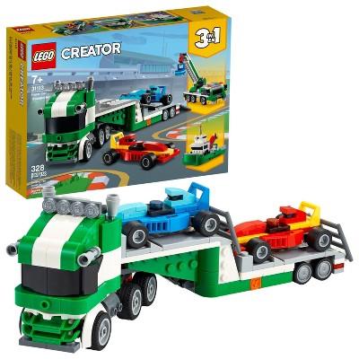 LEGO Creator 3in1 Race Car Transporter; Creative Building Toy 31113