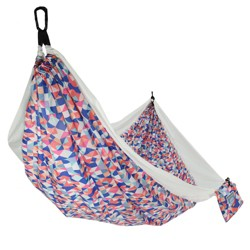 Equip 1 Person Travel Hammock - Colorful Geo