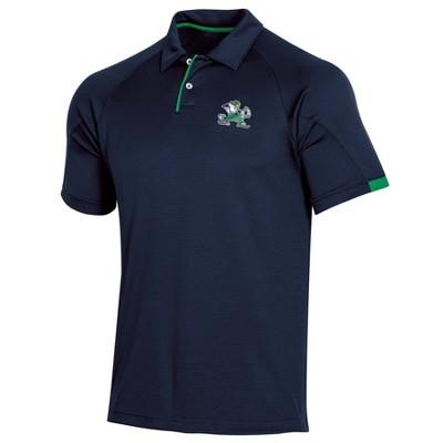 NCAA Notre Dame Fighting Irish Men's Short Sleeved Polo Shirt - S