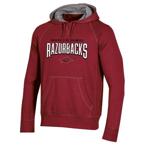 NCAA Arkansas Razorbacks Men's Long Sleeve Cotton Hoodie - image 1 of 2