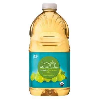 Organic White Grape Juice - 64 fl oz Bottle - Simply Balanced™
