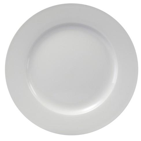 Oneida Chefs Table Porcelain Dinner Plates White 10 Set Of 8