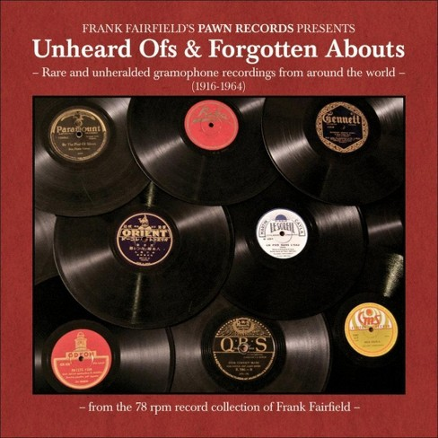 Various - Unheard ofs & forgotten abouts (CD) - image 1 of 1