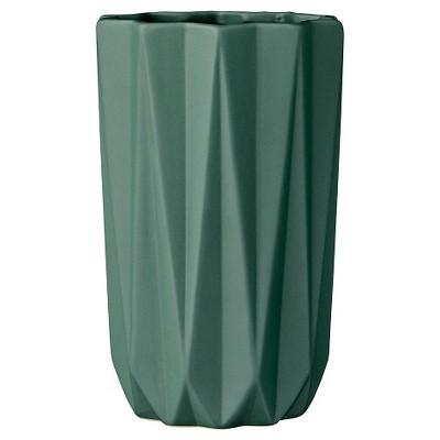 Ceramic Vase - Dark Green (5 )- 3R Studios