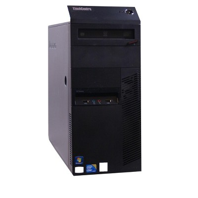 Lenovo M90P-T Certified Pre-Owned PC, Pentium G6950 2.8GHz, 4GB Ram, 500GB HDD, DVDRW, Win10 Home (64-bit) Manufacturer Refurbished