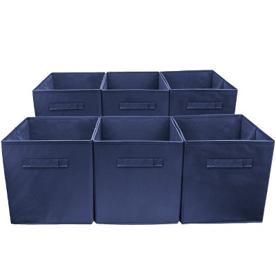Sorbus Cube Storage Box Navy
