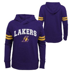 NBA Los Angeles Lakers Girls' Post Up French Terry Hoodie