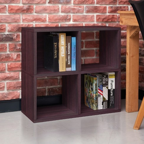 Under Desk Storage 4 Cubby Bookshelf Eco Friendly And Formaldehyde