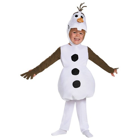Boys' Frozen Olaf Classic Costume X - Small 4 - 6 - image 1 of 3