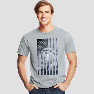 Hanes Men's Short Sleeve Graphic T-Shirt - American Collection