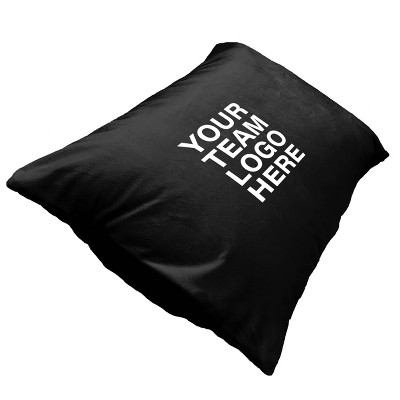 #2623-NFL black Pittsburgh Steelers Throw Pillow
