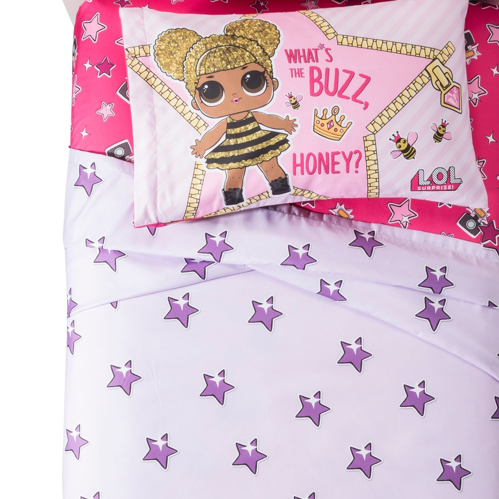 Image of L.O.L. Surprise! Glitterful Sheet Set (Twin)