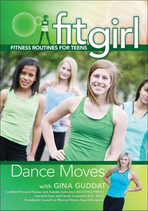 Fitgirl:Dance Moves With Gina Guddat (DVD) - image 1 of 1