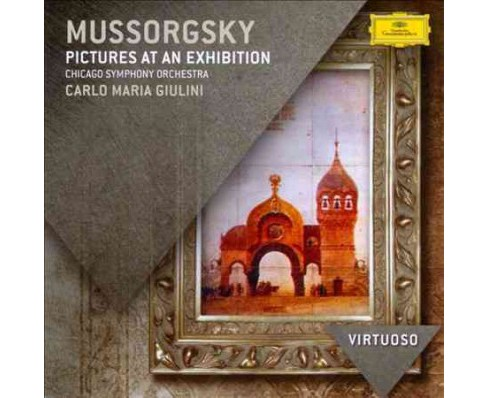 Carlo maria giulini - Virtuoso:Mussorgsky pictures at an ex (CD) - image 1 of 1
