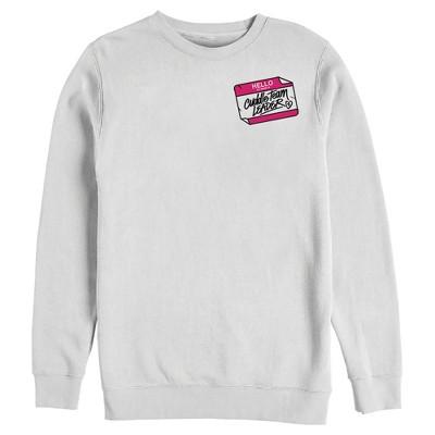 Men's Fortnite Cuddle Name Tag Sweatshirt