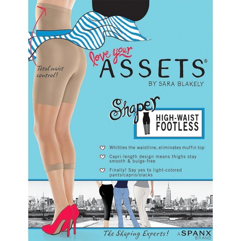 dcc9bb5f93 Assets By Spanx Women s High-Waist Footless Shaper   Target