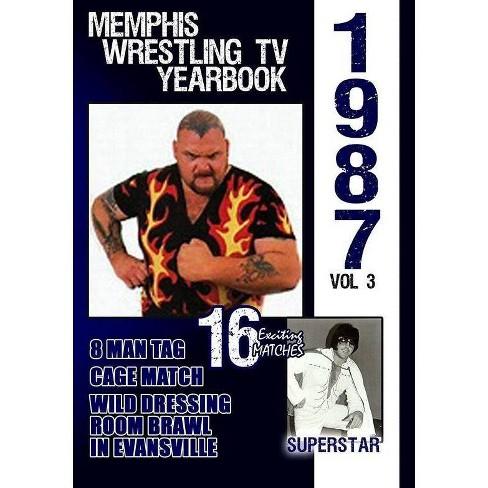 1987 Memphis Wrestling Tv Yearbook Volume 3 (DVD) - image 1 of 1