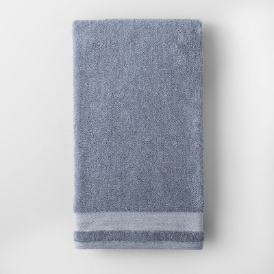 Solid Bath Towel Blue - Made By Design™