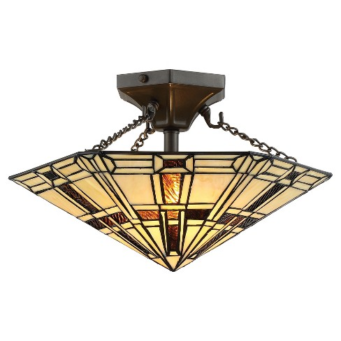 Mircea Semi Flush Wall Lights - Dark Bronze - Lite Source - image 1 of 1
