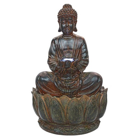 Endless Serenity Buddha Sculptural Fountain - Acorn Hollow - image 1 of 3