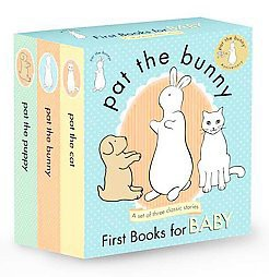 Pat the Bunny: First Books for Baby (Touch and Feel)(Paperback)by Dorothy Meserve Kunhardt