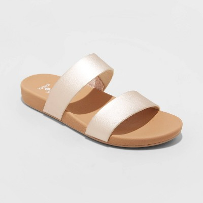 Women's Dedra Two Band Slide Sandals - Shade & Shore™