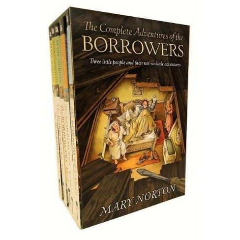 Complete Adventures of the Borrowers (Paperback) (Mary Norton) - image 1 of 1