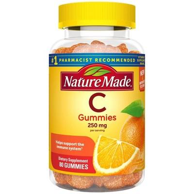 Nature Made Vitamin C 250 mg Immune System Support Gummies - Orange