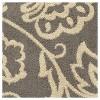 "Gray Botanical Woven Area Rug - (6'7""X9'8"") - Orian - image 4 of 4"