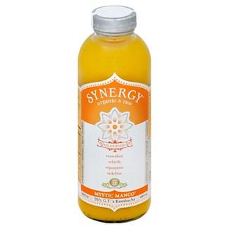 Synergy Mystic Mango Organic Kombucha - 16 fl oz Bottle