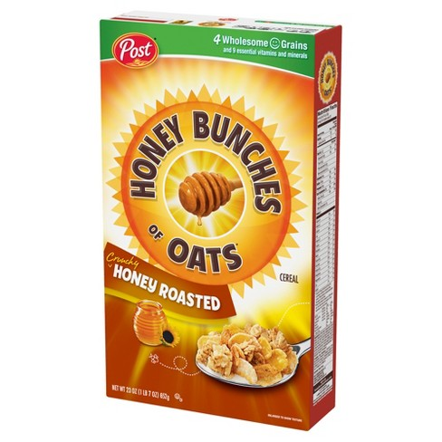 honey bunches of oats crunchy roasted breakfast target