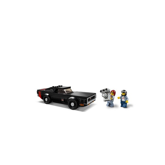 LEGO Speed Champions 2018 Dodge Challenger SRT Demon and 1970 75893 image number null