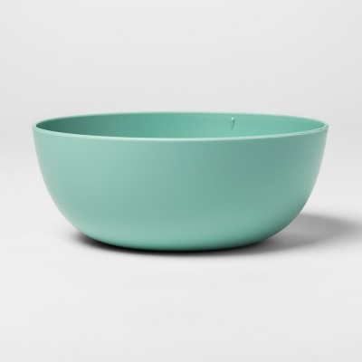 37oz Plastic Cereal Bowl Green - Room Essentials™