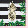 Pineapple Party Supplies Kit Gold And Green - image 4 of 4