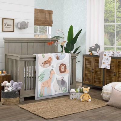 NoJo Jungle Trails Crib Set - 4pc