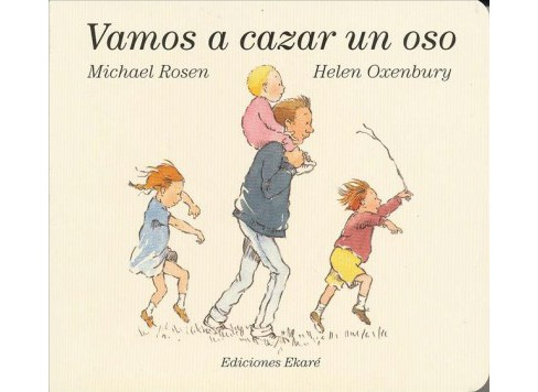 Vamos a cazar un oso/ We're Going on a Bear Hunt -  by Michael Rosen (Hardcover) - image 1 of 1