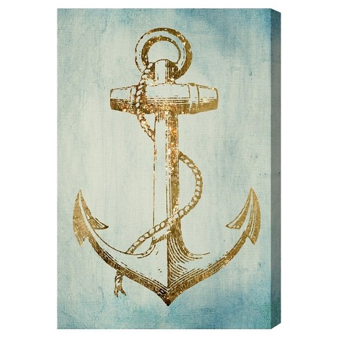"Oliver Gal Unframed Wall ""Sea Anchor"" Canvas Art - image 1 of 2"
